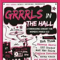 Grrrls in the Hall (A Fundraising Concert for Womens March SLO)