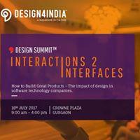Nasscom Design4India Summit Interactions 2 Interfaces - Gurgaon
