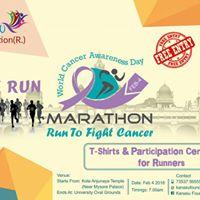 Run To Fight Cancer - MARATHON