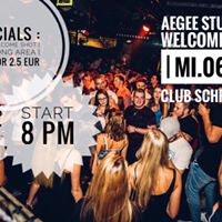 Aegee Erasmus &amp International Students Welcome PARTY