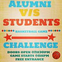 Basketball Game Alumni Vs Students