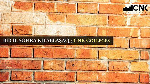 BR L SONRA Kitablaaq  CNK Colleges