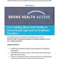 Bronx Health Access Free Training