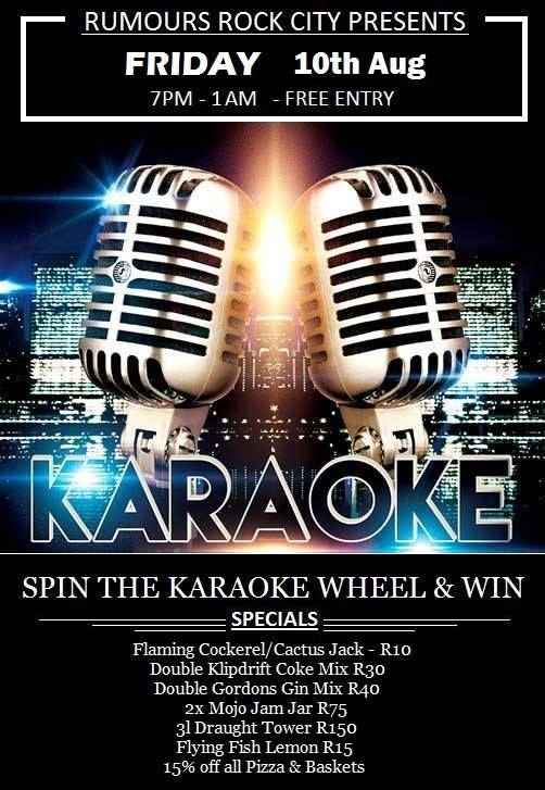 Karaoke On A Friday