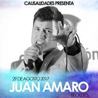 Causalidades Artsticas presenta a Juan Amaro