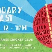 Boundary Feast - Catherine De Barnes Cricket Club