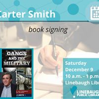 Carter Smith Book Signing Linebaugh