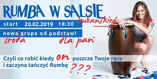 Rumba w Salsie Kubaskiej - ladies only - kurs 3 miesiczny