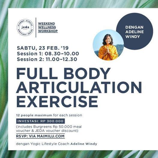 Full Body Articulation Exercise with Adeline Windy