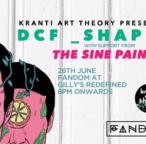 Kranti Art Theory presents DCF_Shapes  The Sine Painter