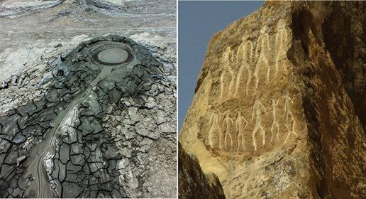 Gobustan Petrogliphs and Mud volcanos trip