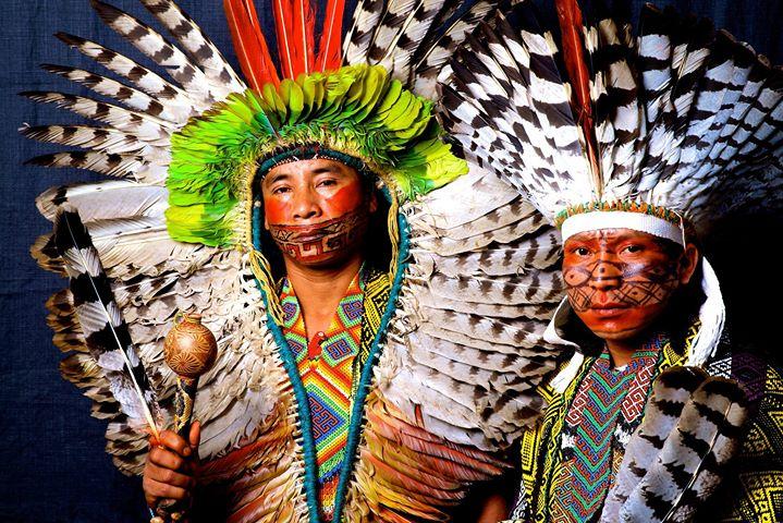Artesãos Ou Artesaos ~ Traditional Huni Kuin ceremonies at Kura Waka
