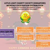 Lotus Light January 2017 Ration Distribution