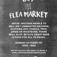 EST Flea Market  Records Clothes Music Art Zines &amp More