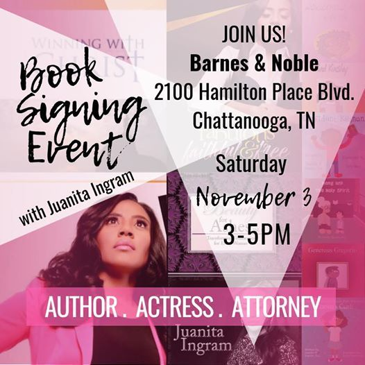 Chattanooga Book Signing at Barnes & Noble (Chattanooga, TN