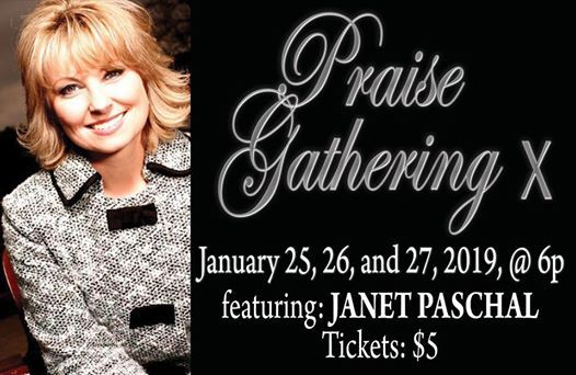 Concert PRAISE GATHERING X (featuring Janet Paschal)