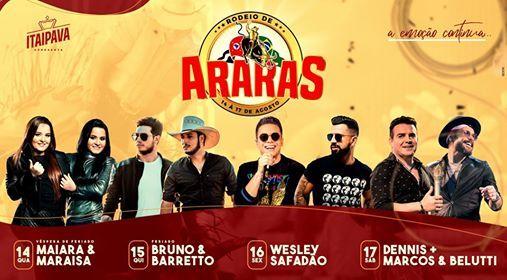 Rodeio de Araras 2019