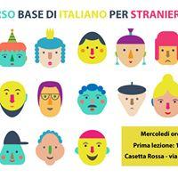 Corso gratuito di italiano per stranieri - Italian basic course for foreigners