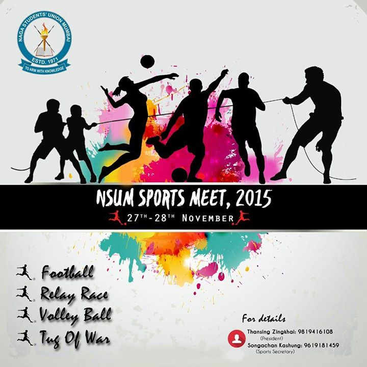 Nsum Sports Meet 2015 At Air India Ground Kalina Mumbai