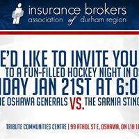 Durham Brokers Hockey Night