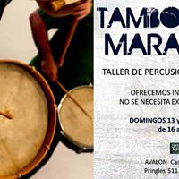 Tambores de Maracatu . Taller de Percusin en Almagro