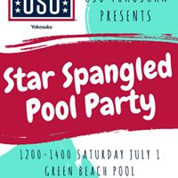 Star Spangled Pool Party