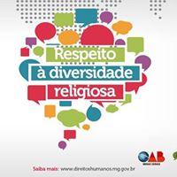 Minas Pela Paz mais respeito  diversidade religiosa