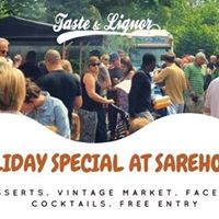Taste and Liquor Bank Holiday Special at Sarehole Mill