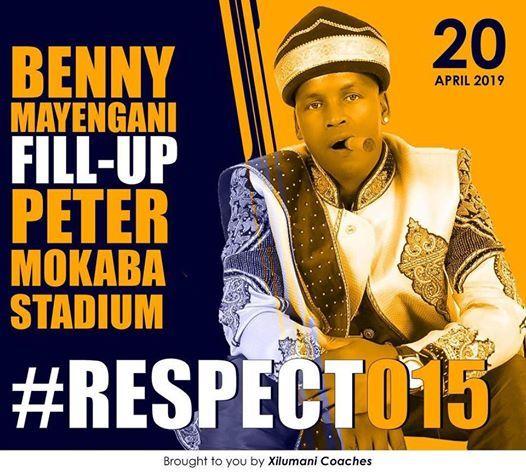 Benny Mayengani Fill Up Peter Mokaba Stadium