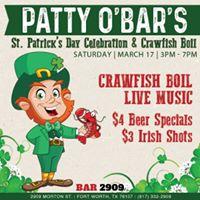 St Patricks Day Celebration &amp Crawfish Boil