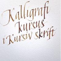 Ivan Castro Calligrafi Workshop