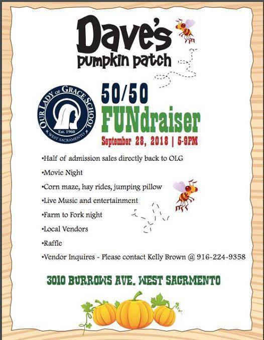 daves pumpkin patch events