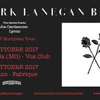 Mark Lanegan Band in concerto a Nonantola