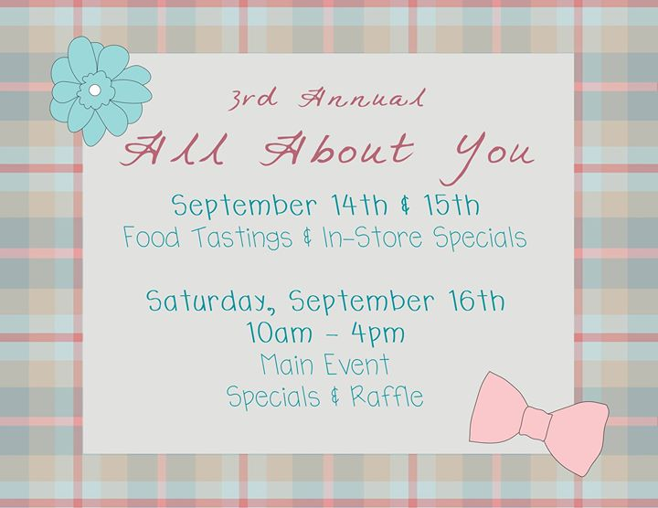 3rd Annual All About You Event