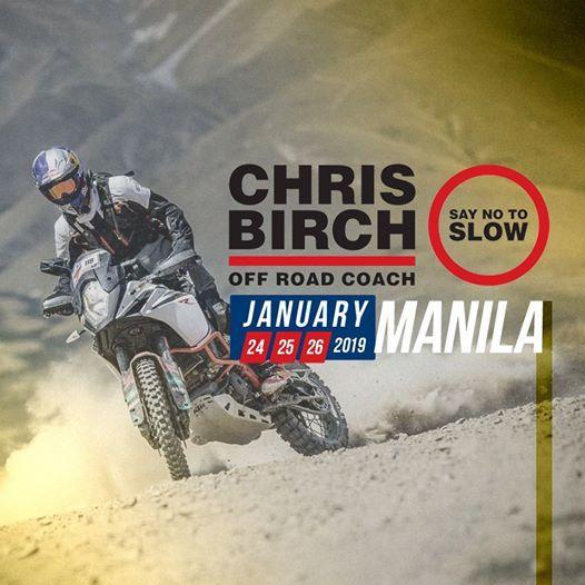 Chris Birch Offroad Clinic - Manila Leg