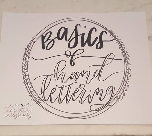 Hand Lettering with Wild & Free Calligraphy