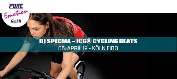 DJ Special - ICG Cycling BEATS am 05.04.2019 auf der FIBO Messe