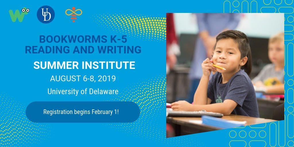 Bookworms Institute August 2019