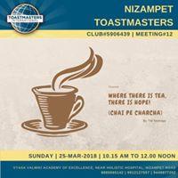 Nizampet Toastmasters Meeting12
