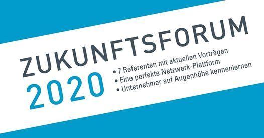 Zukunftsforum 2020 - DER Netzwerkkongress in Augsburg