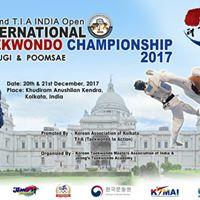 The 2nd INDIA T. I. A Open International Taekwondo Championships 2017