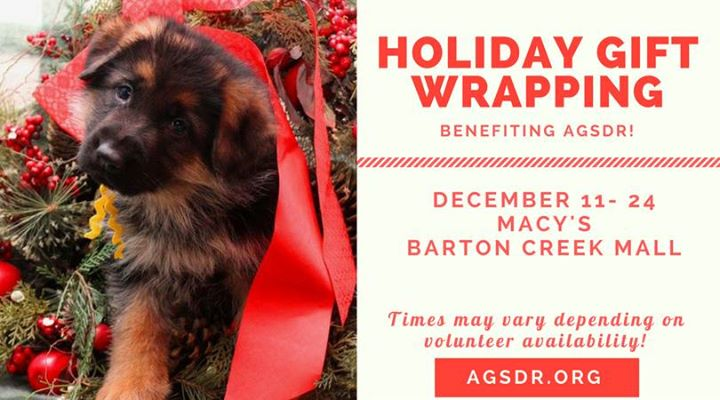 Holiday Gift Wrapping Benefiting Agsdr