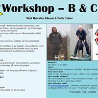 Workshop - B &amp C Med Thorsten Kleven og Peter Faber