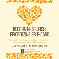 Redefining Selfish Prioritizing Self Care