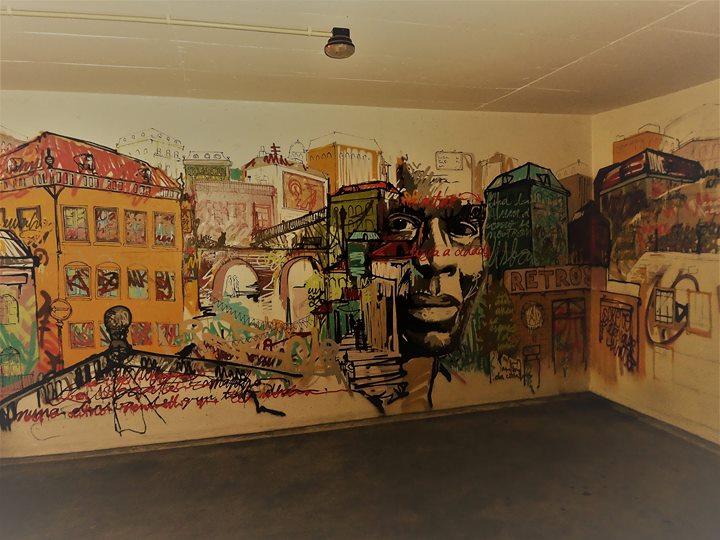 Caminhada Arte Urbana Nas Ruas De Lisboa