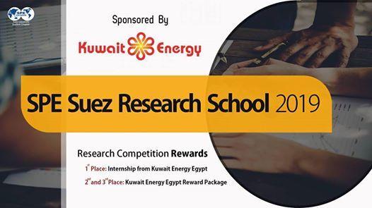 SPE Research School 2019  Kuwait Energy