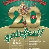 Gatefest 20 rs jubileum 18. og 19. august