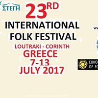 23rd Interantional Folk Festival of Loutraki-Zevgolatio Greece