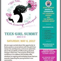 Teen Girl Summit Girl Talk Educate Encourage and Empower