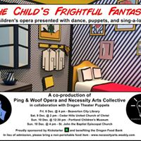 The Childs Frightful Fantasy - Performance 1